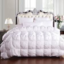 white fluffy comforter set boutique luxury goose down duvet quilts fluffy warm winter comforter set bedding
