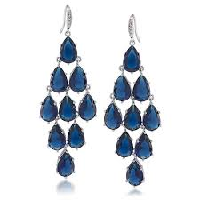 perfect chandelier earrings awesome chandelier earrings upper east side blue crystal kite than elegant chandelier earrings
