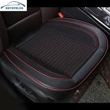 <b>KKYSYELVA 1pcs</b> Summer Driver <b>Seat</b> Cushion <b>Car</b> Chair Pad ...
