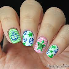 Summer Nails with Turtles and Anchors | Nails | Pinterest | Turtle ...