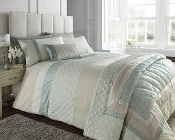 smart inspiration mint green duvet cover super king size bed durban quilt set pale cream quilted