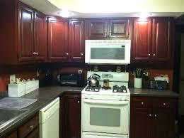 dark stained kitchen cabinets. Fine Dark Staining Cabinets Darker Stain Bathroom Interior Design  Oak  To Dark Stained Kitchen Cabinets