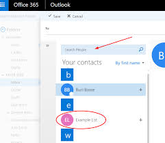Creating An Email Creating An Email Contact Group In Office 365 Support And