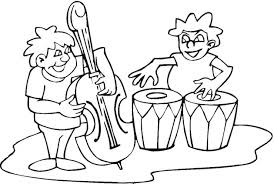 Printable Music Coloring Pages Coloringmecom