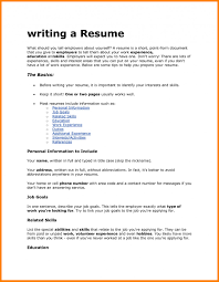 Job Fair Resume How To Write Resume For It Job Fair Application