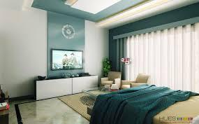 White Aqua Blue Modern Bedroom Decobizzcom