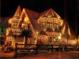 beautiful christmas lights on houses. Unique Lights Beautiful Christmas Lights  House All Lit Up And On Houses Pinterest