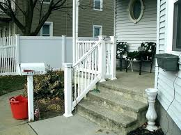 outdoor stair railing ideas railing for steps outdoor stair railing railing for steps image of photos