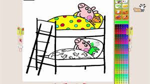 Peppa Pig Paint And Colour Games Online Peppa Pig Painting Games