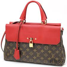 kaitorikomachi louis vuitton m41738 venus monogram three grain calf 2way shoulder tote bag red leather lv venus monogram cherry rakuten global market