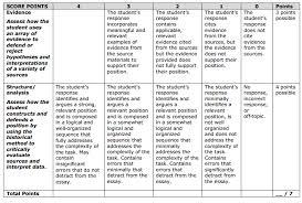 cmas cmas social studies rubric essay