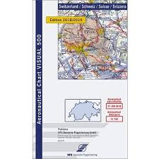 Vfr Icao Chart For Switzerland 2019
