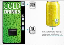 Soda Vending Machine Size Best Brandchannel American Beverage Giants Start Counting Calories On