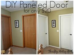 Brown Trim Paint From Hollow Core Bore To A Beautiful Updated Door Diy Slab Door