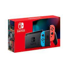 Nintendo Switch with Neon Joy-Con ...