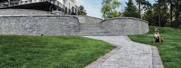 retaining walls landscape solutions