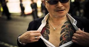 Yakuza Tetování Hodnota A Fotografie