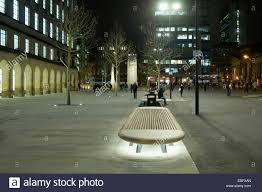 bench lighting. Bench With Lighting Underneath In St. Peter\u0027s Square, Manchester, England, UK The Cenotaph Floodlit Distance. N
