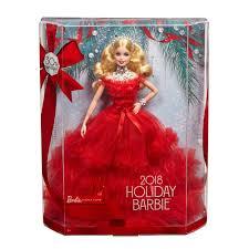 mattel 2018 holiday barbie doll
