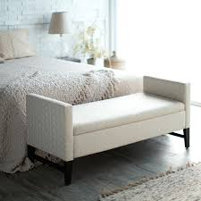 Captivating Storage Bedroom Bench Fabric With Storage Bedroom Bedroom Bench Storage