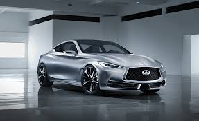 2015 infiniti q50 coupe. fullfrontal infiniti beauty shot of q60 coupe concept released 2015 q50 n