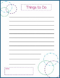 Cute Contact List Template Cute To Do List Template 1172