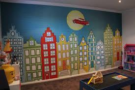 Behang Kinderkamer Rood Minimalistische Kinderkamer Behang