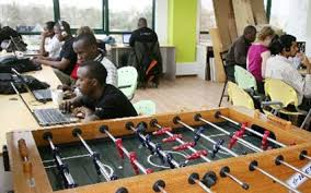 venture capital firm offices. Software Developers At Work IHub Offices Situated Bishop Magua Plaza  On Ngong Road Nairobi Venture Capital Firm