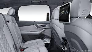2017 audi sq7 tdi interior rear seat entertainment wallpaper