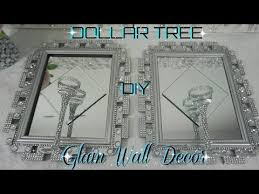 dollar tree diy bling mirror wall sconce dollar glam wall decor diy home