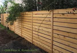 horizontal fence styles. Los Angeles Cedar Fence - Modern Horizontal Style Styles H