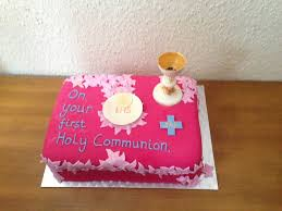 First Holy Communion Cake For 8 Year Old Girl Cakecentralcom
