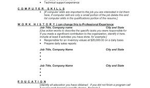 How To List Computer Skills On Resume Resume Skills List Job