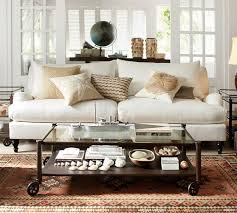 Great Pottery Barn Carlisle Sofa Reviews With Furniture Home