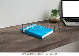 office desk cover. Office Desk With Cover Blue Book , Blank Screen On Laptop, Garden Tree Pot R
