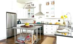 steel kitchen island stainless steel kitchen island back to freestanding islands top with full size stainless steel kitchen island