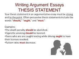 argumentative essay thesis statement examples world of example pmr english essay essay on business ethics also sample in argumentative essay thesis statement examples 18752