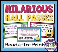 Hall Passes For School Hall Passes For Students Rome Fontanacountryinn Com