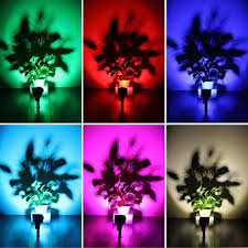 Color Changing Landscape Lights Us 60 15 39 Off T Sun 7 Led Outdoor Color Changing Landscape Lights Solar Lights Security Light For Patio Yard Garden 4 Pack In Solar Lamps From