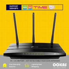 D Link Red Light On Router Tp Link Ac1750 Wireless Dual Band Wifi Router Archer C7 For Unifi Maxis Fiber Internet Time Fibre