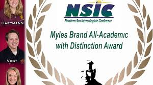 HARTMANN, COLBENSON, VOGT EARN MYLES BRAND ACADEMIC HONORS FROM NSIC - UMD  Athletics