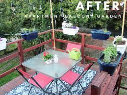 apartment patio garden. Apartment Balcony Garden After Patio