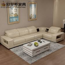 l shape furniture. 2017 New L Shape Modern Sectional Furniture Living Room Full Leather Sofa Set With Wood Legs R
