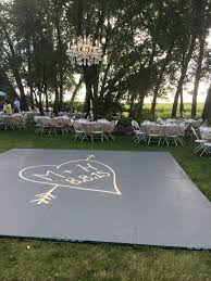 D Build A Dance Floor Outside Suspended Chandelier In The Center Visit  Sibylsophiacom For Flowers Events And Weddings LA Area