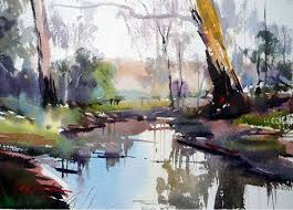 famous watercolor paintings david taylor catching the morning light 38x22