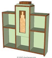 art moderne furniture. Art Moderne Furniture. Unique New Deco Skyscraper Style Stepped Bookcase Display Bookshelf Furniture