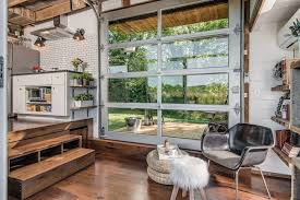 50 images of residential glass garage doors stunning dallas door used as a patio hispster chic home ideas 13