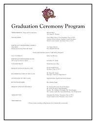 Graduation Program Template Pdf 29 Images Of High School Graduation Program Template Bfegy Com