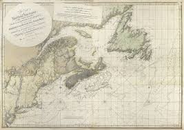 New England Nautical Charts Nova Scotia New England New York New Jersey To The St