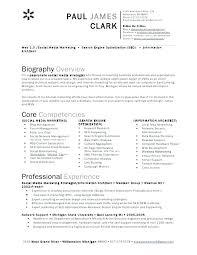 Social Media Consultant Resume. Rebecca Moericke Marketing And ...